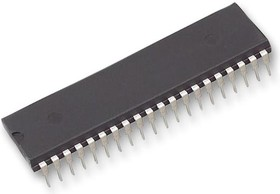 Фото 1/2 DS80C320-MNG+, 8 Bit MCU, DS8 Family DS80C3xx Series Microcontrollers, 33 МГц, 256 Байт, 40 вывод(-ов), DIP