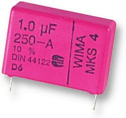 MKS4D041504D00KSSD, DC Пленочный Конденсатор, 1.5 мкФ, 100 В, Metallized PET, ± 10%, Серия MKS4
