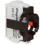 Блок контактов 1п +НЗ адаптер без инд. с пруж. клеммами Osmoz Leg 023101