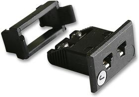 FMTC-J-FF, Разъем термопары, гнездо, типа J, ANSI, миниатюрный, монтаж в панель