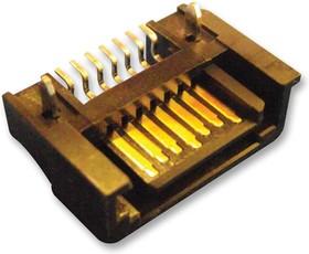 47080-4005, Разъем I/O, 7 контакт(-ов), Штекер, SATA, Поверхностный Монтаж, Серия 47080