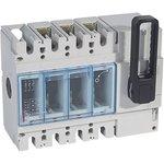 Выключатель DPX IS 630 3P 400А фронт. упр. Leg 026660
