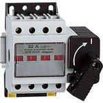 022502, Выключатель-разъединитель Vistop 32А 4П рукоятка спереди черная рукоятка