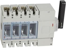 Выключатель-разъединитель 4п DPX-IS 630 400А бок. прав. Leg 026678