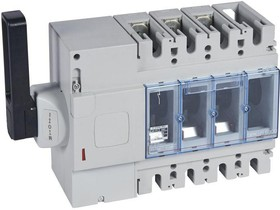 Выключатель-разъединитель 3п DPX-IS 630 400А бок. лев. Leg 026680