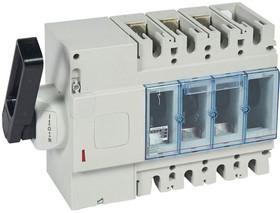 Выключатель-разъединитель 3п DPX-IS 630 630А бок. лев. Leg 026681