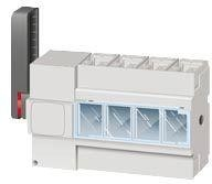 Выключатель-разъединитель 4п DPX-IS 250 100А бок. лев. Leg 026655