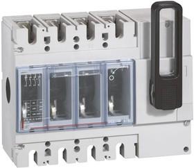 Выключатель-разъединитель 4п DPX-IS 630 630А фронт. Leg 026663