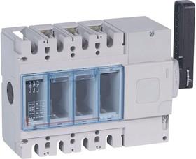 Выключатель-разъединитель 3п DPX-IS 630 630А бок. прав. Leg 026665