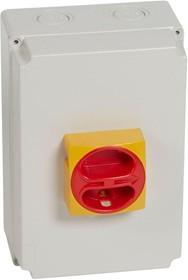 Выключатель-разъединитель дистанцион. 4п нсл 40А в боксе IP65 Leg 022184