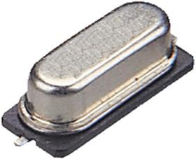 12.000MHZ 49USMX/30/50/40/18PF/ATF, Кристалл, 12 МГц, SMD, 12.4мм x 4.5мм, 50 млн⁻¹, 18 пФ, 30 млн⁻¹, Серия 49USMX