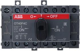 Рубильник OT40F4C реверсивный 4п с рукояткой