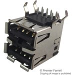 5787745-2, USB TYPE A CONNECTOR RECEPTACLE 4POS THD