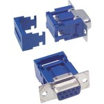 1658609-4, D SUB CONNECTOR, STANDARD, 9 POSITION, RECEPTACLE