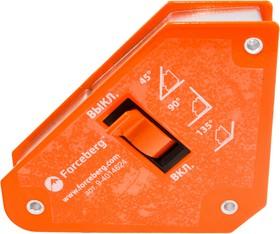 Фото 1/8 Магнитный уголок для сварки отключаемый для 3-х углов Forceberg, усилие до 13 кг