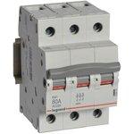 Выключатель-разъединитель 3п 80А RX3 Leg 419414