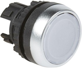 Головка для кнопки с потайным толкателем бел. Osmoz Leg 024000
