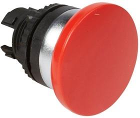 Головка для кнопки грибовидная с пруж. возвр. d40мм красн. Osmoz Leg 023834