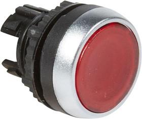 Головка кнопки с потайным толкателем красн. Osmoz Leg 024021