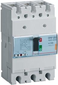 Выключатель автоматический 3п 100А 25кА DPX3 250 400В термомагнитн. расцеп. Leg 420205