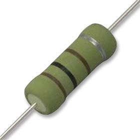 Фото 1/2 OX102KE, Резистор в сквозное отверстие, 1 кОм, Серия OX, 1 Вт, ± 10%, Осевые Выводы, 300 В