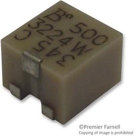 3224W-1-104E, Подстроечный потенциометр, 100 кОм, 250 мВт, ± 10%, Серия Trimpot 3224, 12 виток(-ков)