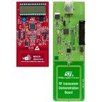 Фото 3/3 M24LR-DISCOVERY, Отладочный комплект для работы с RFID/NFC 13.56 МГц на базе M24LR04E-RMN6T/2, CR95HF-VMD5T
