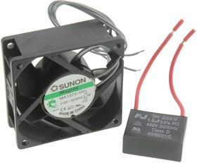 MA1072-HVL.GN, Осевой Вентилятор, серия MagLev, 115 В, AC (Переменный Ток), 70 мм, 25 мм, 29 фут³/мин, 0.81 м³/мин