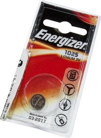 CR1025 ENRGIZER, Lithium CR1025 1шт 3V
