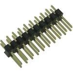 2213S-20G (PLD-20), Вилка штыревая, 2.54 мм, 20 контакт(-ов), серия 2213S