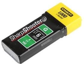 "Скобы для степлера STANLEY 1-TRA704T типа ""G"" 6мм 10.6 мм 1000шт"