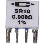 SR10-0.020-1%, Токочувствительный Резистор, 0.02 Ом, Серия SR, 1 Вт ...