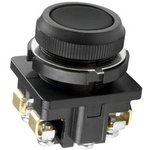 Кнопка КЕ-011/1 2з цилиндр 10А 660В IP40 черн. Электротехник ET507206