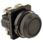 Выключатель кнопочный КЕ-011 У3 исп.2 1з+1р цилиндр IP40 10А 660В черн ...