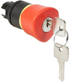 "Головка для кнопки экстр. откл. EN418 ключ 455 d40мм ""возврат-поворот"" красн. Osmoz Leg 023892"