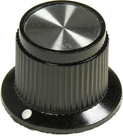 41006-2В, Ручка металлическая (пластиковая вставка), d25.4 мм