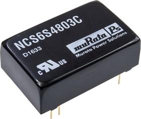NCS6S4803C, DC/DC TH 6Вт TEN 5-4810WI AM6TW-4803S-RZ P26TG-483R3E4:1