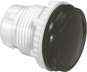Заглушка для отверстий 22.3мм черн. Osmoz Leg 024187