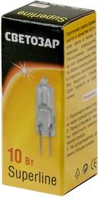 SV-44761-Т, Лампа галоген. капсульная,прозрач., G4, 8мм,10Вт 12В