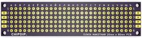 ПЛАТА МАКЕТНАЯ 20мм х 80мм PCB (шаг 2.54мм)