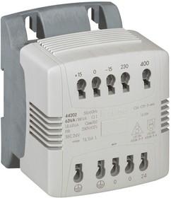 Трансформатор 1-фазн. 230-400-24V 400ВА Leg 044206