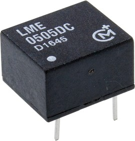 Фото 1/2 LME0505DC, DC/DC TH 0.25Вт 5-5В DIP