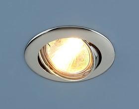 Фото 1/2 104S MR16 CH / Светильник встраиваемый хром