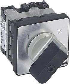 Переключатель кулачковый 2 напр. 1п 16А PR12 Leg 027460