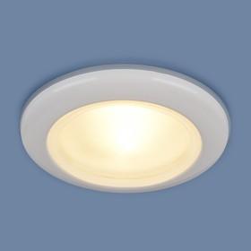 Фото 1/2 1080 MR16 WH / Светильник встраиваемый белый