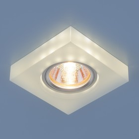 Фото 1/4 6063 MR16 WH / Светильник встраиваемый белый