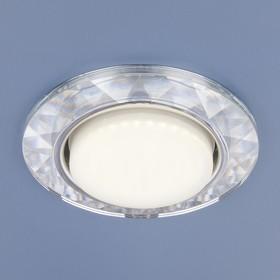 Фото 1/2 1061 GX53 / Светильник встраиваемый CL прозрачный