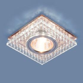 Фото 1/3 8391 MR16 / Светильник встраиваемый CL/GC прозрачный/тонированный