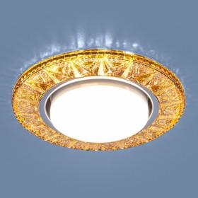 Фото 1/4 3022 GX53 / Светильник встраиваемый GD золото