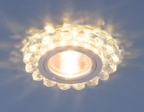 Фото 1/4 6036 MR16 СL / Светильник встраиваемый прозрачный